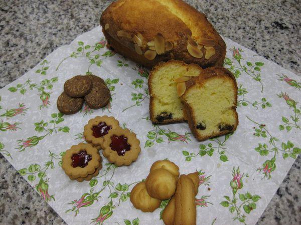 パウンドケーキ&クっキー3種