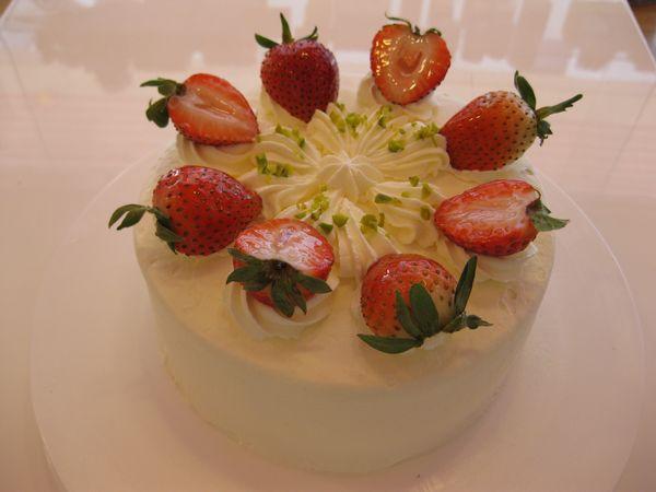 ケーキといえば、苺のショートケーキ!