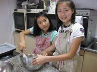子供ケーキ教室